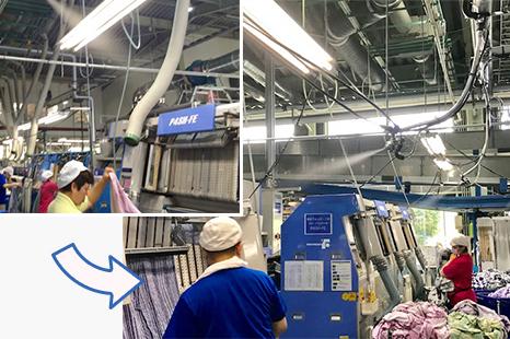 リネンサプライ工場
